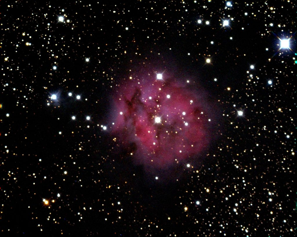 RGB Image of Cacoon Nebula